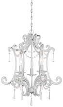 Minka-Lavery 3152-77 - 3 Light Mini Chandelier