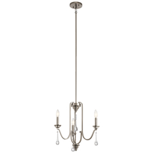 Kichler 44150CLP - Mini Chandelier 3Lt