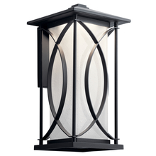 Kichler 49975BKTLED - Outdoor Wall LED