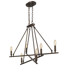 Golden 2360-LP RBZ - Garvin Linear Pendant in Rubbed Bronze