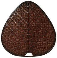 Fanimation PAD1A - Palisade Blade Set of 8 - 22 inch-Wide Oval Bamboo - A