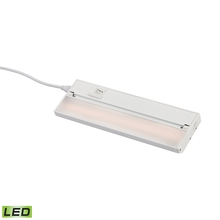 ELK Lighting LV012RSF - ZeeLED Pro 1-Light Utility Light in White with Diffused Glass - Integrated LED